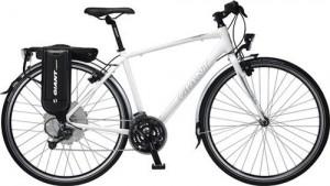 Elcykel test af Giant Escape Hybrid