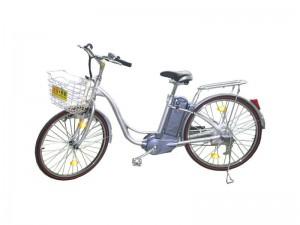 Gammel elcykel