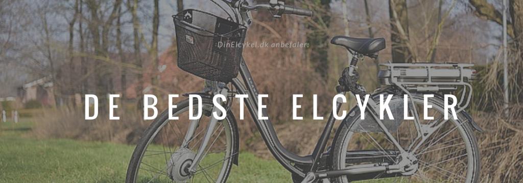De bedste elcykler 2016